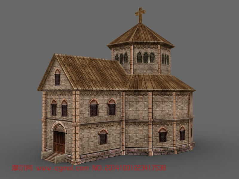 房子 教堂
