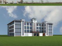 盲人学校综合楼,藏族风格