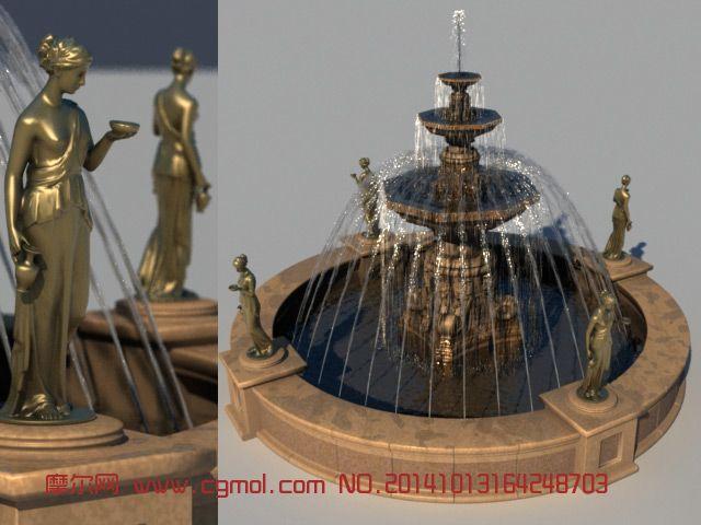 粒子喷泉 真有喷泉