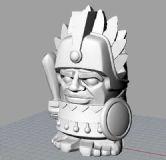 矮人战士,印第安人