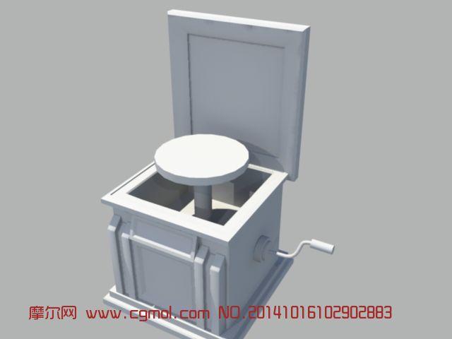 欧式马桶模型制作
