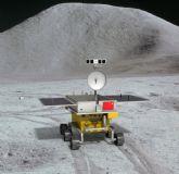 中国玉兔号登月探测车
