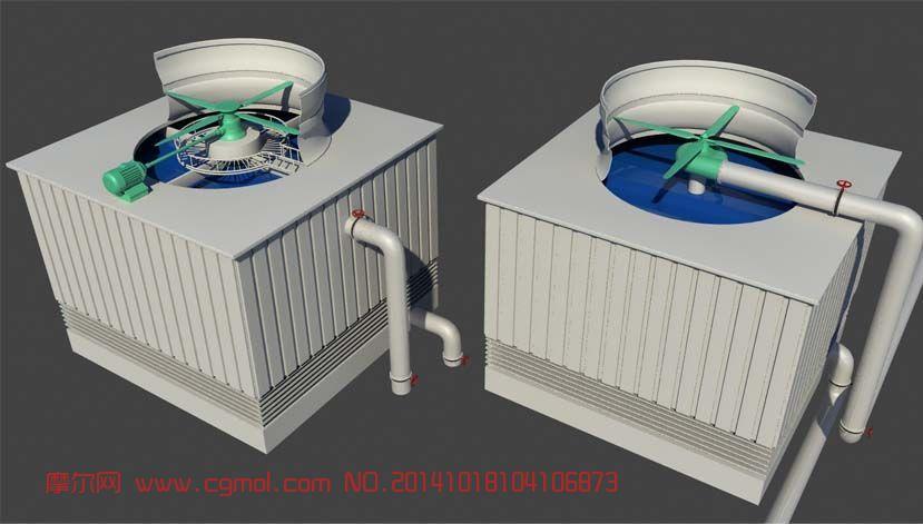 风机maya模型下载
