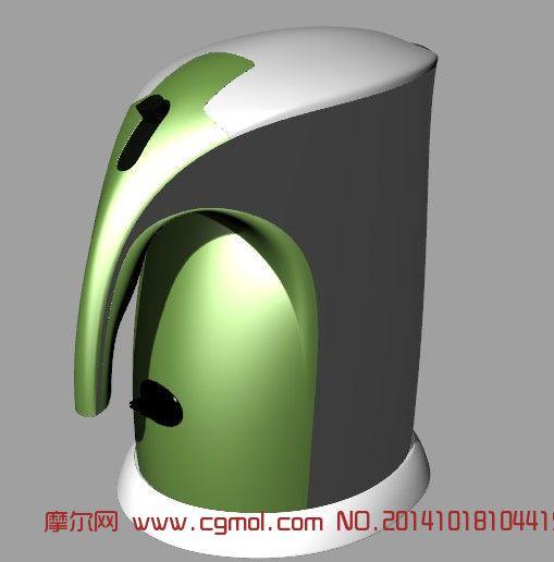 电热水壶_家用电器_电子电器_3d模型免费下载_摩尔网.