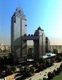 某公共建筑中心整体规划场景模型