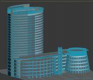 酒店,医院模型