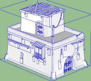 游戏房子SU模型