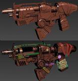 原创手枪模型 高模