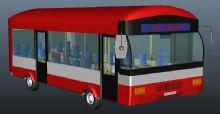 公交车maya模型