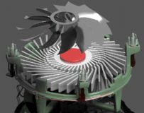 CPU风扇 散热器
