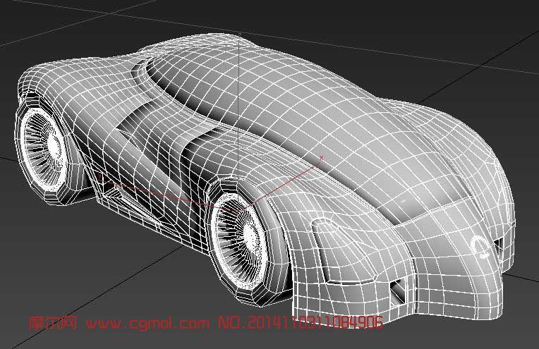 概念汽车设计 布线很好_汽车_运输模型_3d模型免费_网