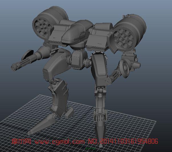 机器人_机械角色_机械模型