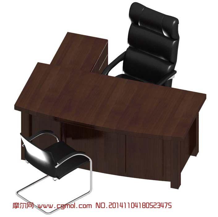 原创作品: 桌椅办公
