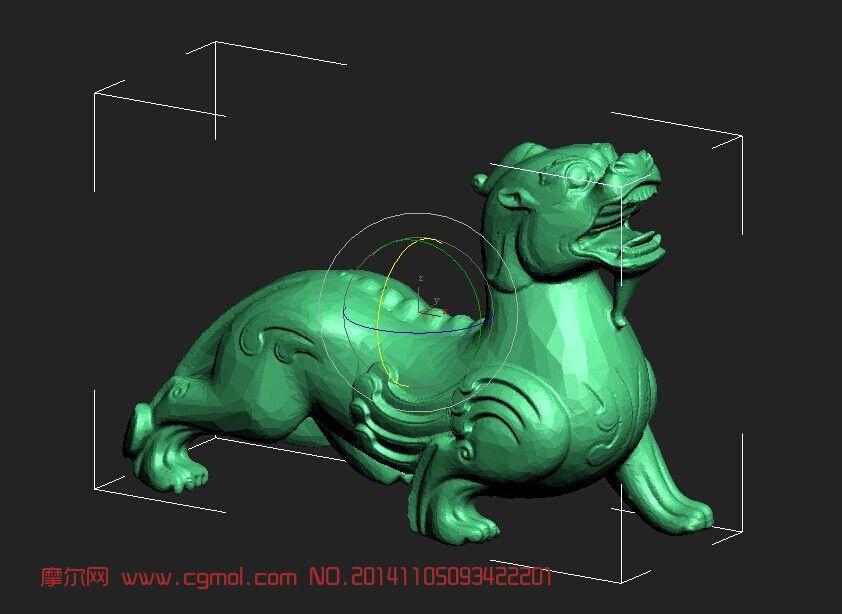 动物模型 其他  标签:貔貅神兽