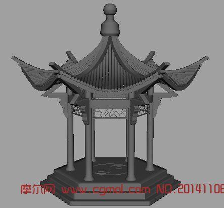 古代场景_场景模型