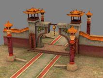 回廊,游戏场景