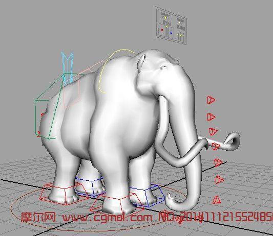 猛犸象_哺乳动物_动物模型_3d模型免费下载_摩尔网www