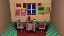 书房,室内场景