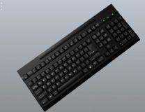 高精度键盘 带贴图