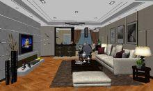 室内客厅 家装模型