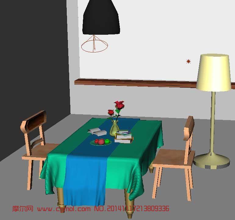 室内作业-桌椅