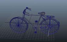 凤凰牌旧式自行车