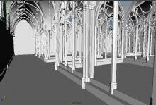 教堂,走廊