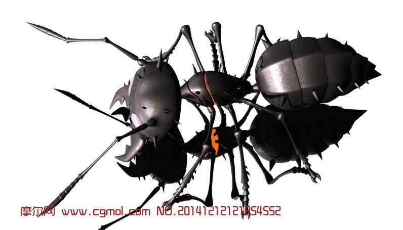 原创作品: 变异蚂蚁,异形昆虫
