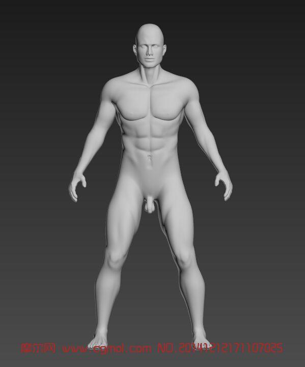 男人,人体