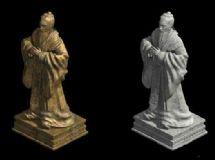 孔子雕像雕塑
