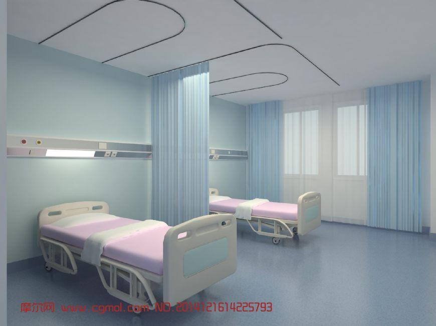某医院病房设备带