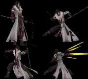剑3-剑侠情缘3-莫雨7连击动作模型