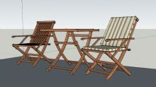 巴厘岛风情桌椅组合