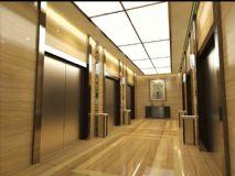 酒店电梯通道
