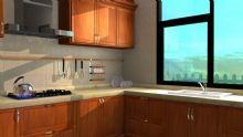 厨房,小房子室内设计