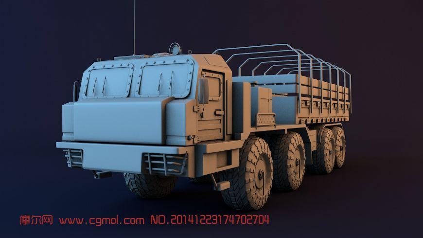 3Dmax 战车