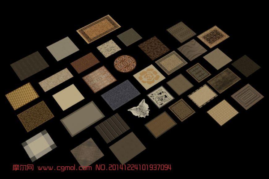 原创作品: 室内地毯合集