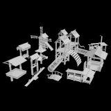 室外亭子小桥组合3d模型