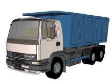 拉土车SketchUp模型