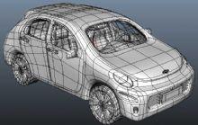雪佛兰写实版小汽车
