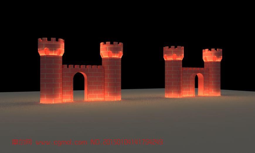 冰雪建筑-冰�T,城堡�T
