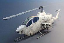 AH-1眼镜蛇武装直升机