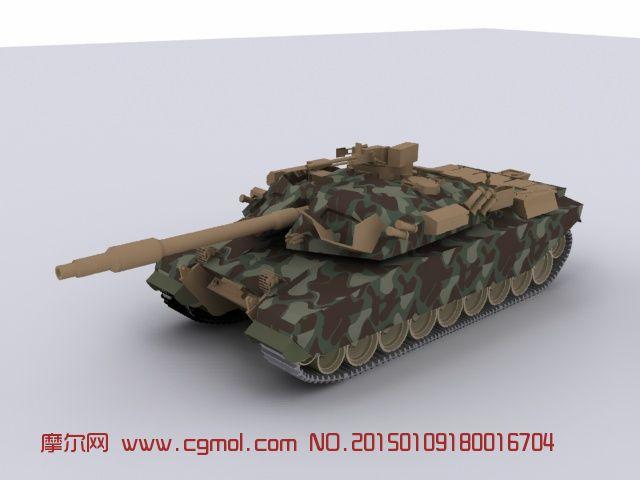 美洲虎坦克模型-带建模教程_装甲车_军事模型_3D模型 ...