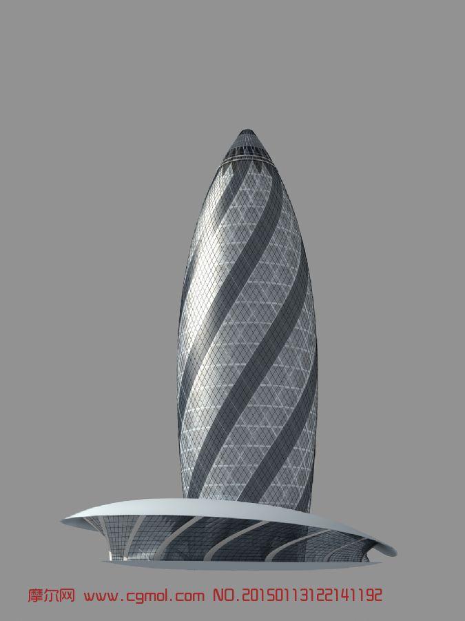 瑞士再保险塔,摩天大楼