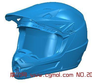 比赛头盔_科幻角色_游戏角色_3d模型免费下载_摩尔网.