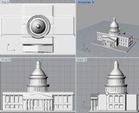 一个城堡,3D打印使用
