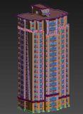 居民楼模型