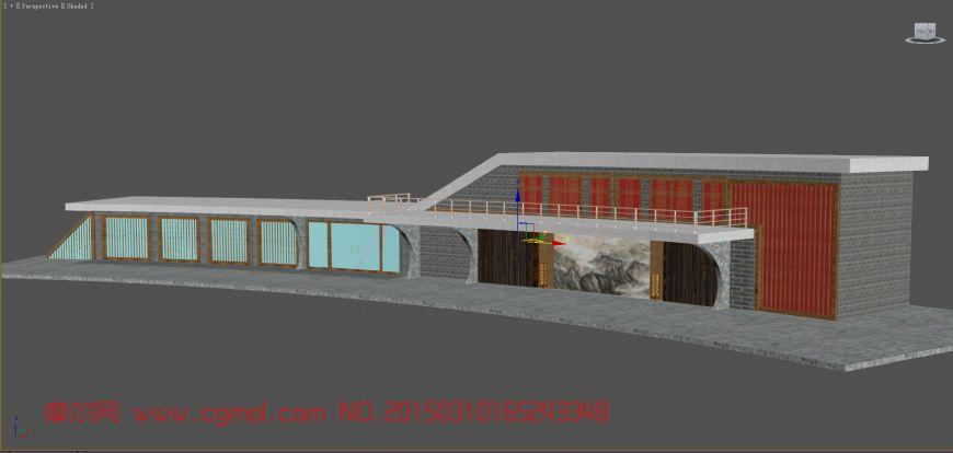 基础设施_建筑模型