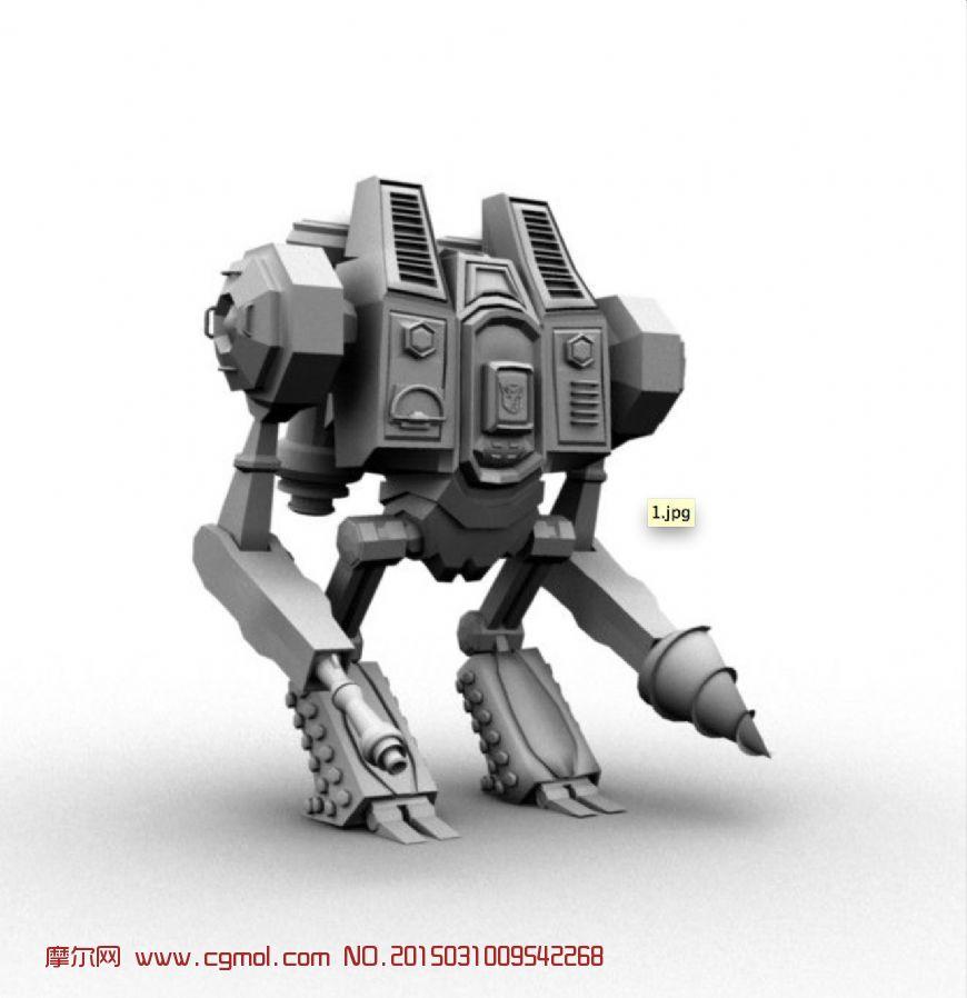 機器人3d模型內容|機器人3d模型版面設計