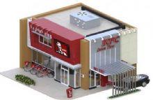 肯德基汽车穿梭餐厅188bet(FBX格式)